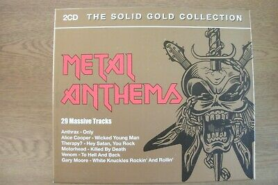 Various Artists - Metal Anthems (2xCD) . FREE UK P+P ...........................