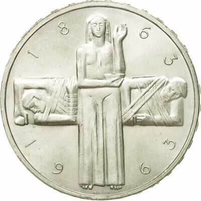 [#548079] Coin, Switzerland, 5 Francs, 1963, Bern, VF(30-35), Silver, KM:51