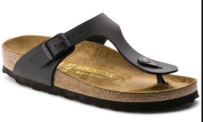 Birkenstock Mayari Black Patent Womens Leather Sandals Shoes 7 UK 40 EU 9 US