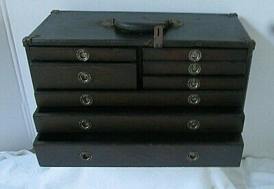 Vintage Machinists Wooden Tool Box/Chest