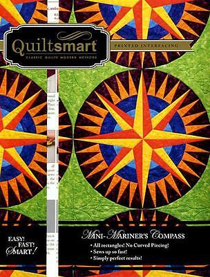 Quiltsmart Classic Pack Mini Mariners Compass Fusible Interfacing Pattern Kit
