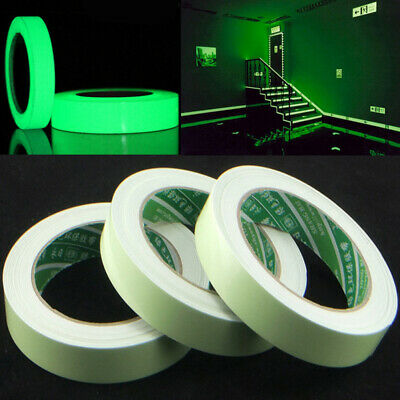 Luminous Tape Fluorescent Glow In The Dark Safety Stage Sticker Warning Tapes
