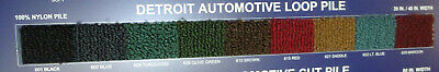 Automotive loop Carpet Detroit 625 Maroon (By the yard 40 inches wide)