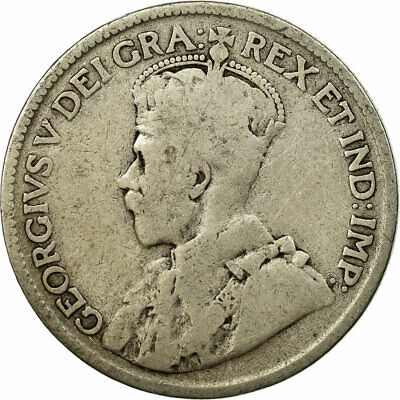[#693756] Coin, Canada, George V, 25 Cents, 1919, Royal Canadian Mint, Ottawa
