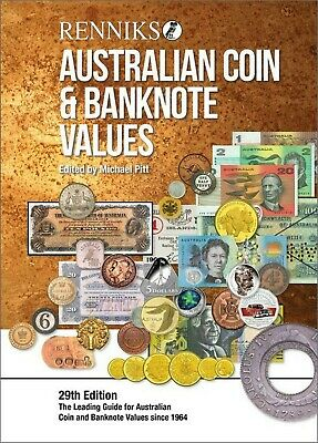 NEW Release!! 2019 Renniks Australian Coin & Banknote Values, 29th Edition.