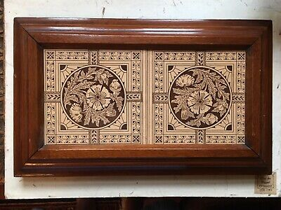 International Tile Company I.T.C. Brooklyn c. 1890 Display Tiles Rare Antique