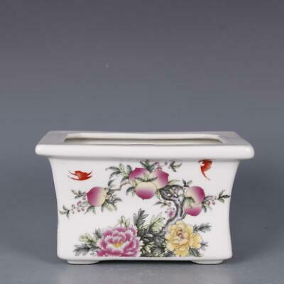 Chinese ancient antique hand make Flowerpot Porcelain Decoration
