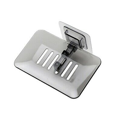 Soap Dish Shower Wall Mount Soap Holder Save Space Drain Water Soap Container