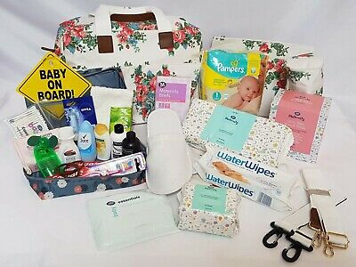Pre Packed Maternity Hospital Changing Bag - 24 Products