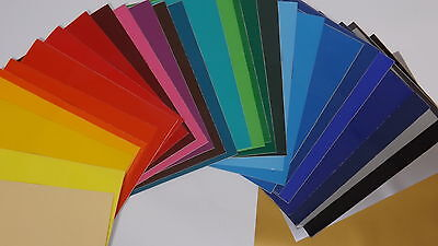20% Off  - 20 x A4 Sheets Of Self Adhesive Craft Vinyl