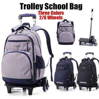 Nylon Removable Men travel Bags for Boys Waterproof Trolley Backpack Teenager