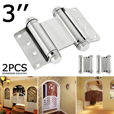 Stainless Steel double door function Strap Hinges Gate/Cabinet/Boat Butt Hinge