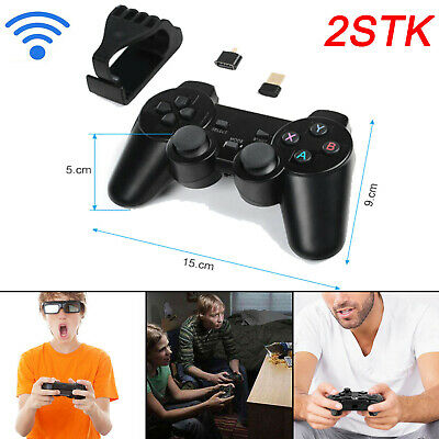 2x Funk Controller Tablet PS3 Android Smarphone Wireless Dual Vibration Gamepad
