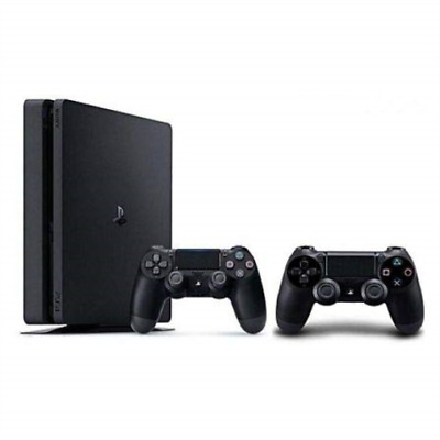 HDW PS4-Sony Playstation 4 Slim 500GB Console + extra DS4 EU GAME NUOVO