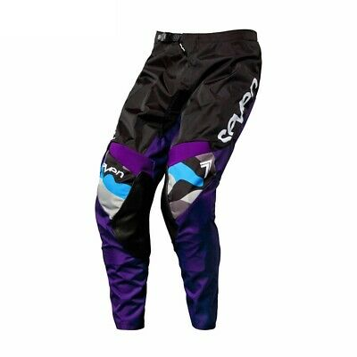 Seven Annex Soldier Motocross / MX / Off Road Pants Purple