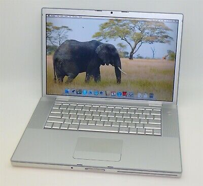 "15"" Apple Macbook Pro 2,2 Late 2006 MA609LL Intel C2D 2.16GHz 2GB RAM 160GB HDD"