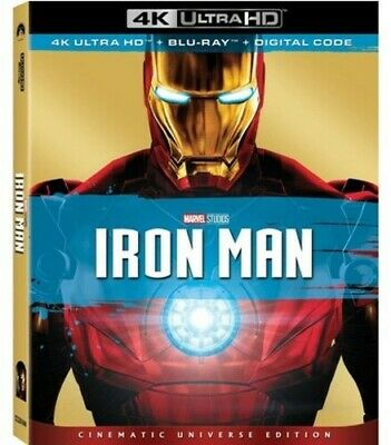 Iron Man [New 4K Ultra HD] With Blu-Ray, 4K Mastering, Collector's Ed, Dolby,