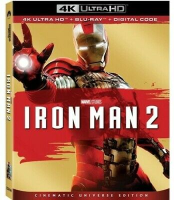 Iron Man 2 [New 4K Ultra HD] With Blu-Ray, 4K Mastering, Collector's Ed, Dolby