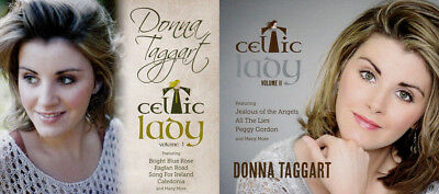 Donna Taggart - Celtic Lady Volume 1 & 2 | NEW 2 CD BUNDLE Jealous Of The Angels