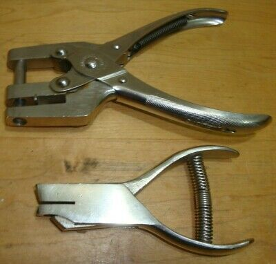 Vintage Sargent & Co. Leather Punch and U.S. Made Paper Hole Punch