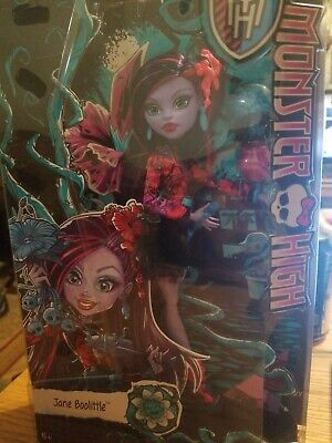 Monster High Gloom And Bloom Jane Boolittle Doll Brand New