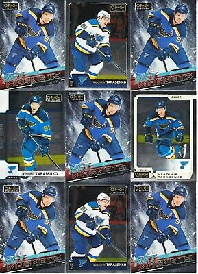 Vladimir Tarasenko 31 Card Lot Opc Platinum Net Magnets Base St Louis Blues