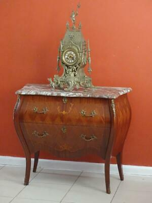 Antique French Louis XV Chest of Drawers Sideboard  Side bedside Table TV stand
