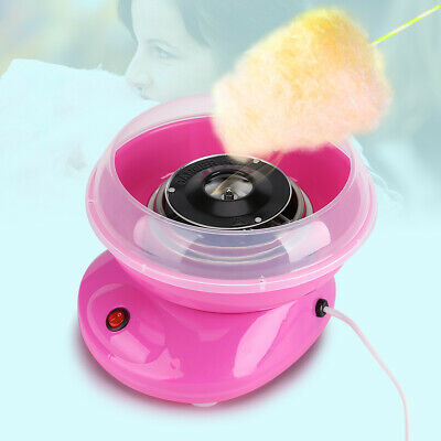 Hot Mini Electric Pink Cotton Candy Maker Sugar Floss Machine For Wedding Party