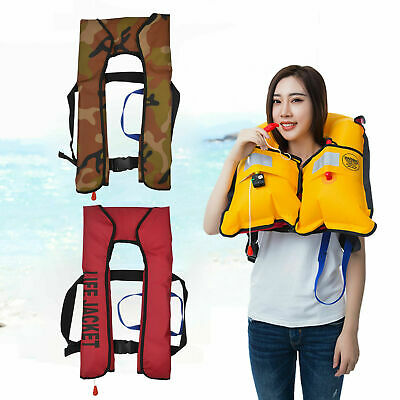 HOT Adult Automatic Manual Inflatable Life Jacket 150N Sailing Boating