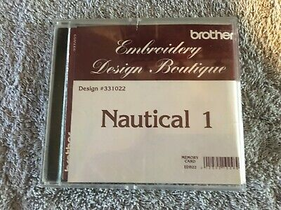 Brother Embroidery Design Nautical  Memory Card