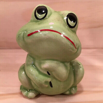 "FRANCIS THE FROG ""Green"" Little Collectable Salt Shaker Novelty Shaped Ornament"