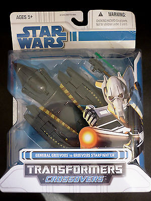 Transformers Crossovers Star Wars General Grievous Starfighter Figure  2008 NEW
