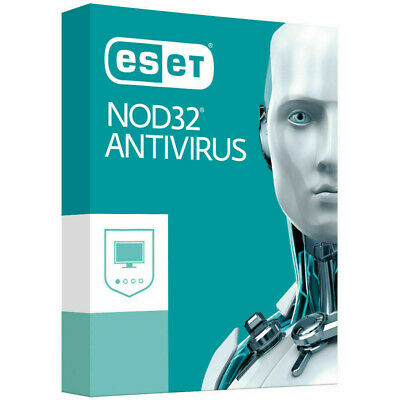 Instant Delivery ESET NOD32 ANTIVIRUS 1 PC 2 YEAR For Windows and MAC