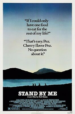 """Stand by Me Movie Silk Fabric Poster 11""""x17"""" 24""""x36"""""""