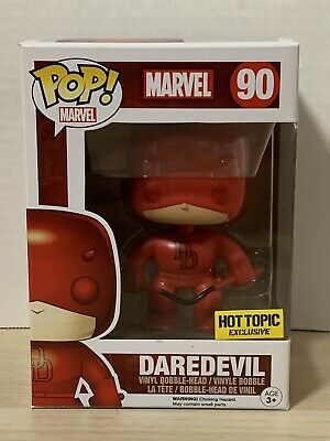 Funko Pop! Daredevil #90 (Red Suit) Marvel Hot Topic Exclusive