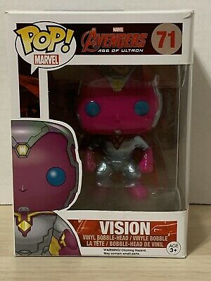 Funko Pop! Vision #71 Marvel Avengers Age of Ultron VAULTED/RETIRED