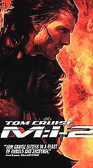 Mission Impossible M:I-2 (VHS,2000)  Tom Cruise