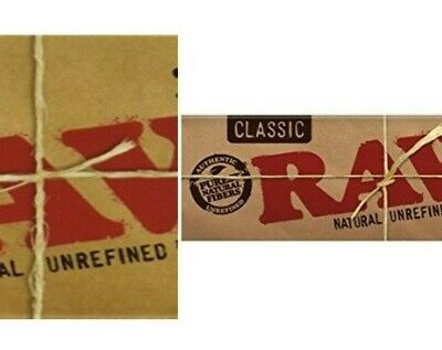 Raw Classic 1 1/4 Rolling Papers 50 Leaves Super Low Prices USA Supplier