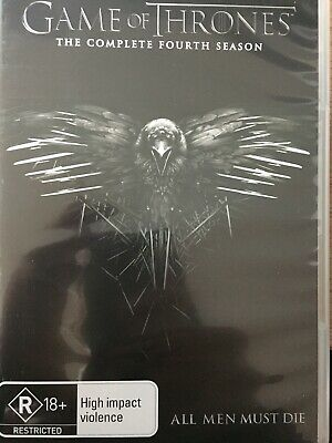 GAME OF THRONES - Season 4 5 x DVD Set AS NEW! Complete Fourth Series Four