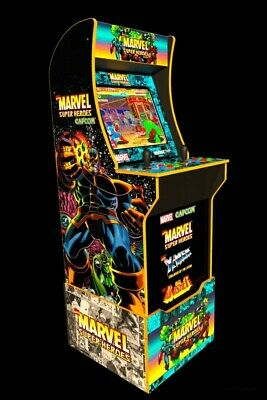 Arcade1Up Marvel Home Arcade Game with Riser
