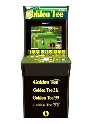 Arcade1Up Golden Tee Home Arcade Game with Riser