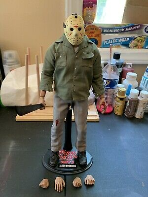 Custom 1/6 Scale Beto Matali Friday The 13th Part 3 Jason voorhees