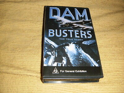 Dam Busters The True Story VHS TAPE as NEW documentary VIDEO PAL