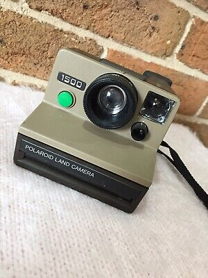 Vintage Polaroid Land Camera 1500