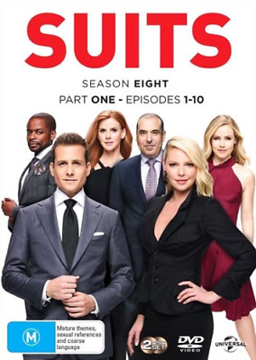 Suits : Season 8 : Part 1 (DVD, 2-Disc Set) - REGION 4 - NEW & SEALED