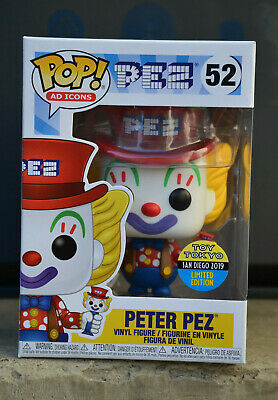 Peter Pez Funko POP! Ad Icons #52 Toy Tokyo SDCC 2019 Exclusive Limited Edition
