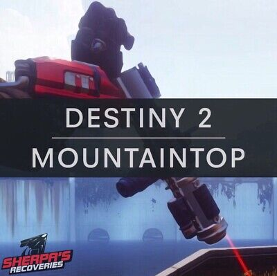 Destiny 2 Mountaintop Quest 24 Hour Delivery! (PC) Xbox & Ps4 With Cross Save!