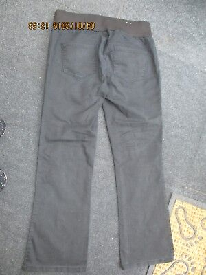 """Ladies """"New Look Maternity"""" under the Bump Black Smart Trousers (Size 12)"""
