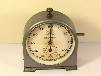 Vintage Photography Darkroom Timer Johnsons English Clock Systems        (MJ724)
