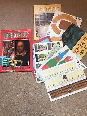 Marshall Cavendish Discovery Collection Issues 4 Shakespeare & The Theatre